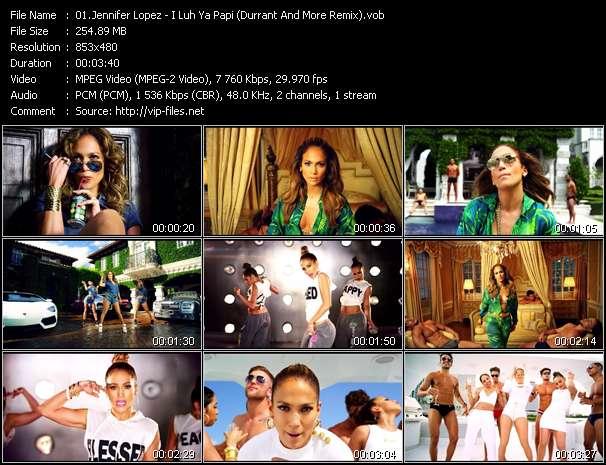 download jennifer lopez papi music video