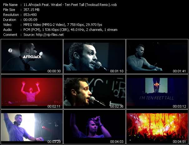 Afrojack Feat. Wrabel video vob