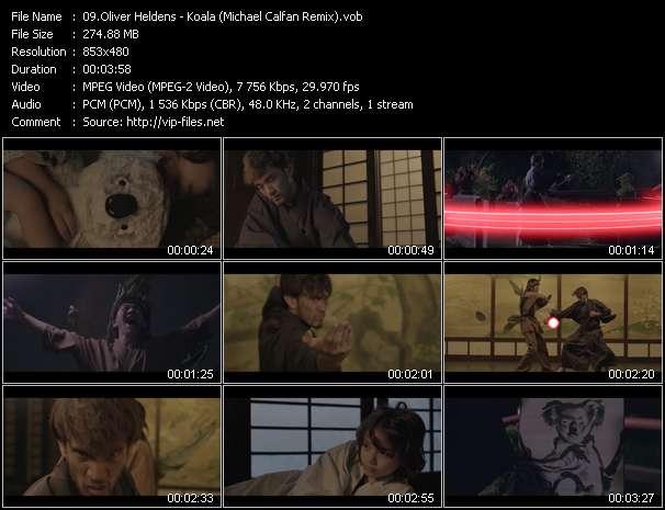 Screenshot of Music Video Oliver Heldens - Koala (Michael Calfan Remix)