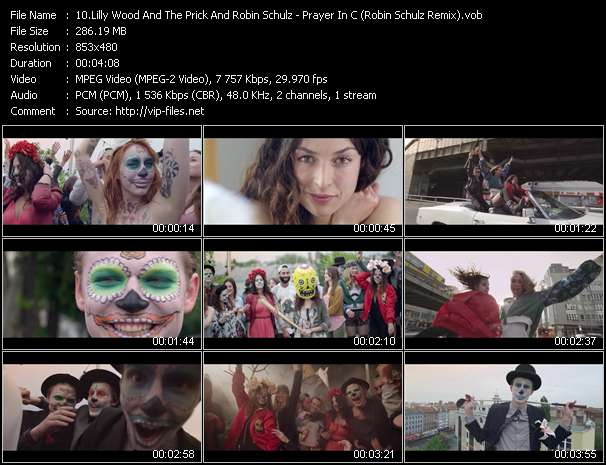 Screenshot of Music Video Lilly Wood And The Prick And Robin Schulz - Prayer In C (Robin Schulz Remix)