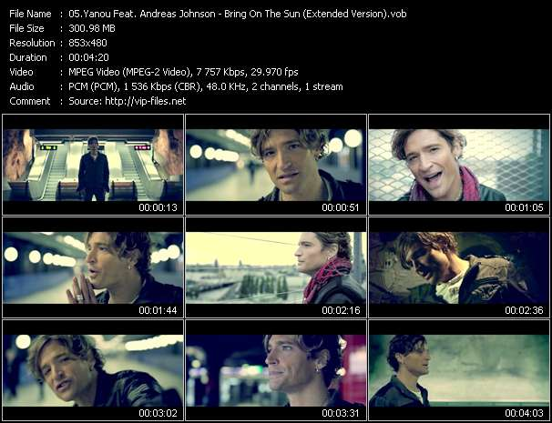 Yanou Feat. Andreas Johnson - Bring On The Sun (Extended Version) - Download Music Video Clip ...