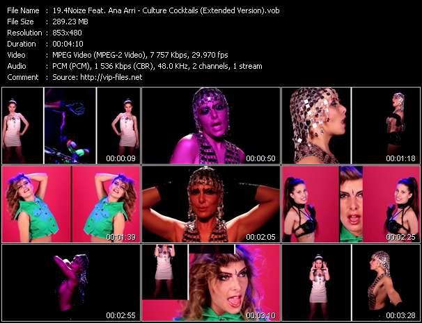 4Noize Feat. Ana Arri clips musicaux vob