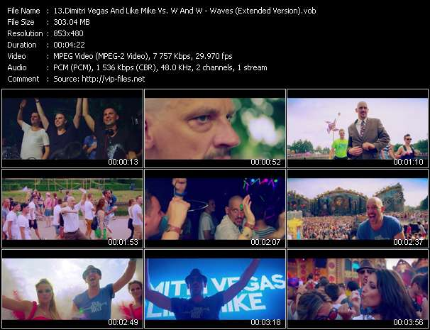 Dimitri Vegas And Like Mike Vs. W And W video vob