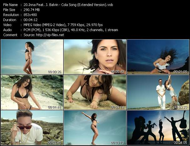 Inna Feat. J. Balvin video vob