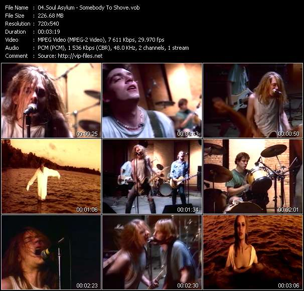 Screenshot of Music Video Soul Asylum - Somebody To Shove