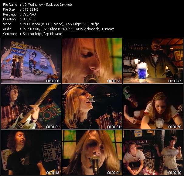 Screenshot of Music Video Mudhoney - Suck You Dry