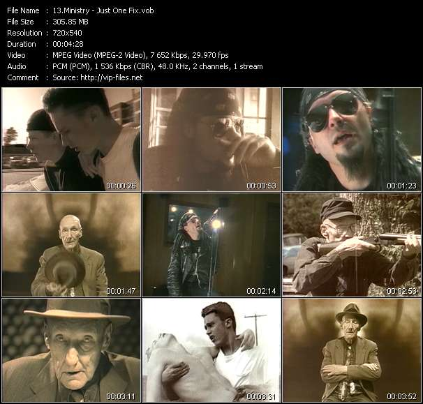Screenshot of Music Video Ministry - Just One Fix