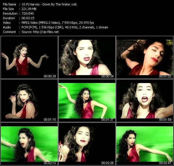 Screenshot of Music Video Pj Harvey - Down By The Water