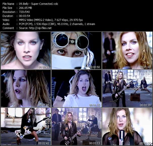 Screenshot of Music Video Belly - Super-Connected