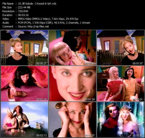 Screenshot of Music Video Jill Sobule - I Kissed A Girl