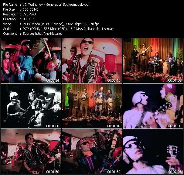 Screenshot of Music Video Mudhoney - Generation Spokesmodel