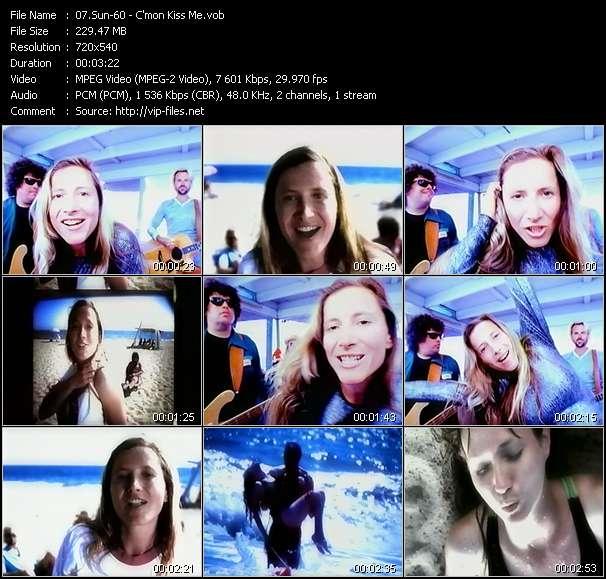 Screenshot of Music Video Sun-60 - C'mon Kiss Me