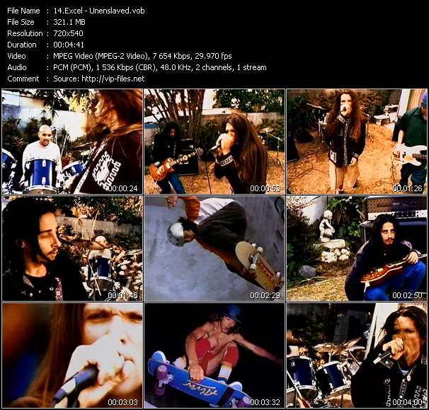 Screenshot of Music Video Excel - Unenslaved