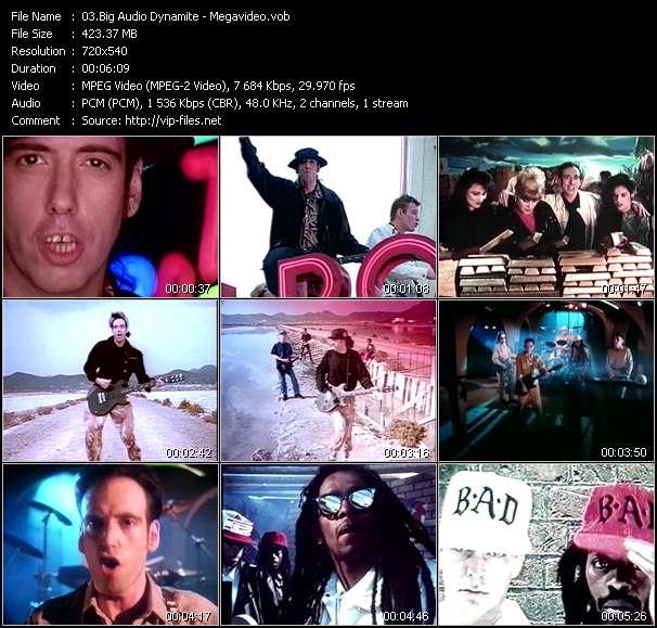 Screenshot of Music Video Big Audio Dynamite - Megavideo