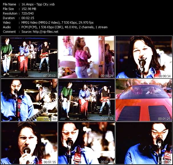 Screenshot of Music Video Amps - Tipp City