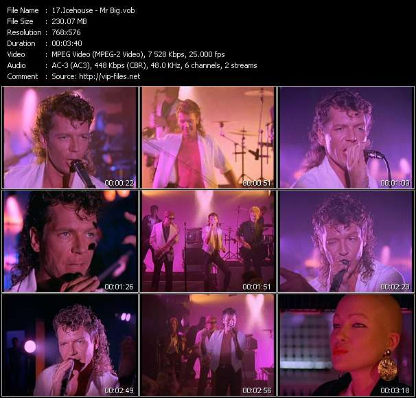 Screenshot of Music Video Icehouse - Mr Big