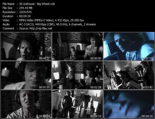Screenshot of Music Video Icehouse - Big Wheel