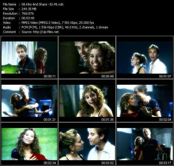 Screenshot of Music Video Kiko And Shara - En Mi
