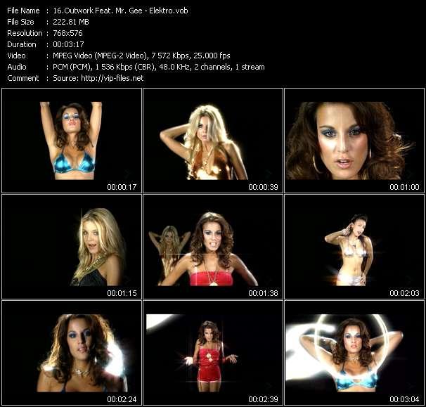 Screenshot of Music Video Outwork Feat. Mr. Gee - Elektro