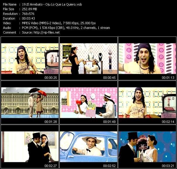 Screenshot of Music Video El Arrebato - Oju Lo Que La Quiero