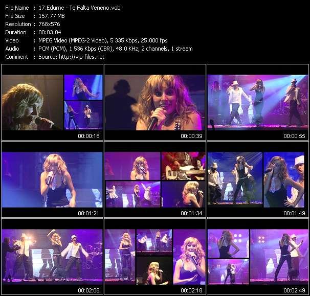 Screenshot of Music Video Edurne - Te Falta Veneno
