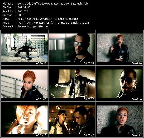 P. Diddy (Puff Daddy) Feat. Keyshia Cole video vob