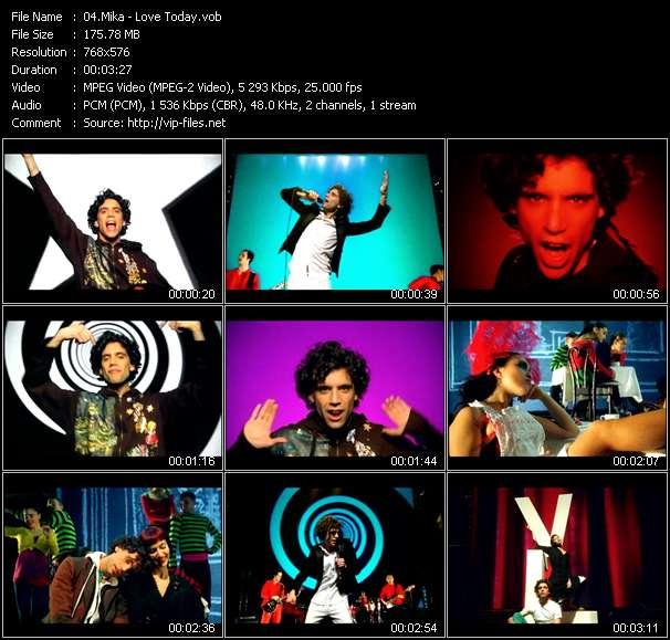Mika clips musicaux vob