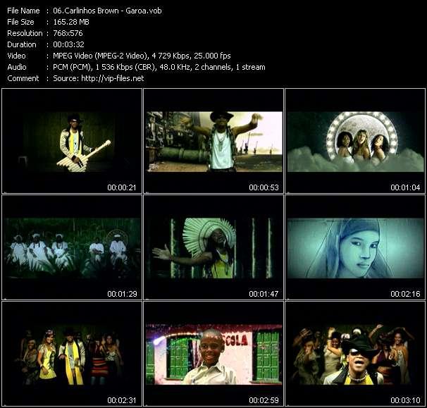 Carlinhos Brown video vob