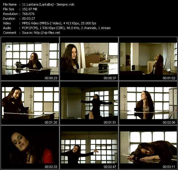 Lantana (Lantalba) video vob