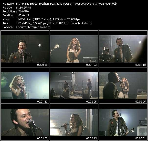 Manic Street Preachers Feat. Nina Persson video vob