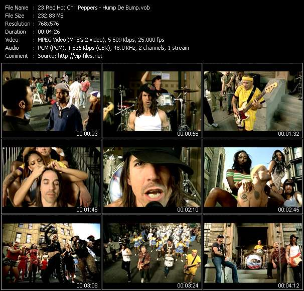 Red Hot Chili Peppers video vob