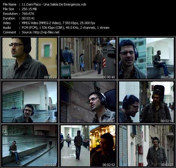 Screenshot of Music Video Dani Flaco - Una Salida De Emergencia