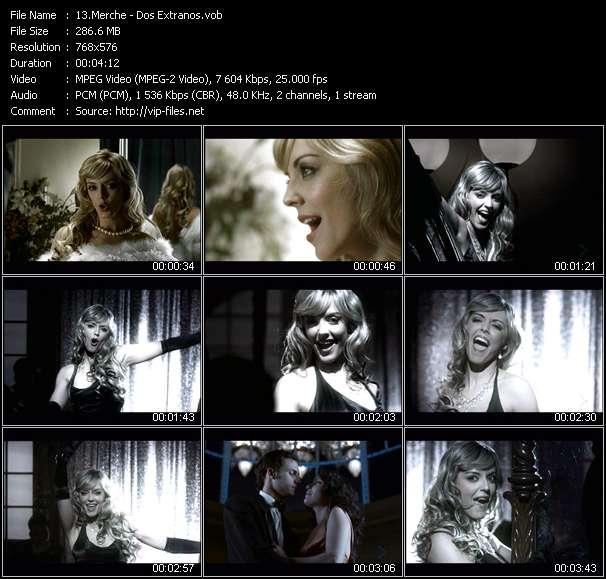 Screenshot of Music Video Merche - Dos Extranos