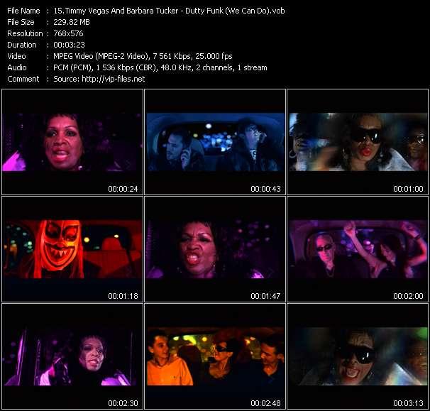 Screenshot of Music Video Timmy Vegas And Barbara Tucker - Dutty Funk (We Can Do)