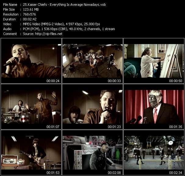Kaiser Chiefs clips musicaux vob