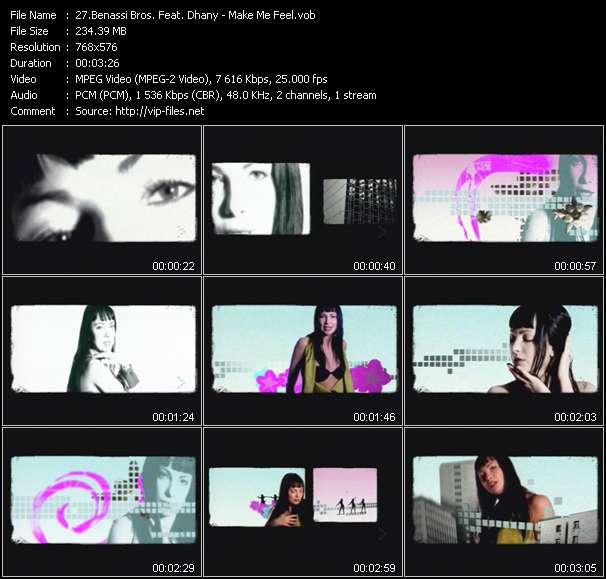 Benassi Bros. Feat. Dhany video vob