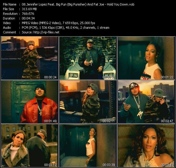 Jennifer Lopez Feat. Big Pun (Big Punisher) And Fat Joe video vob