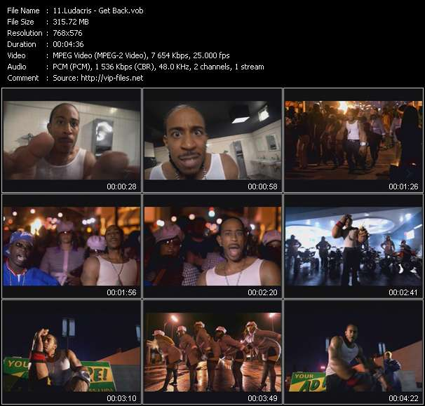 Ludacris video vob