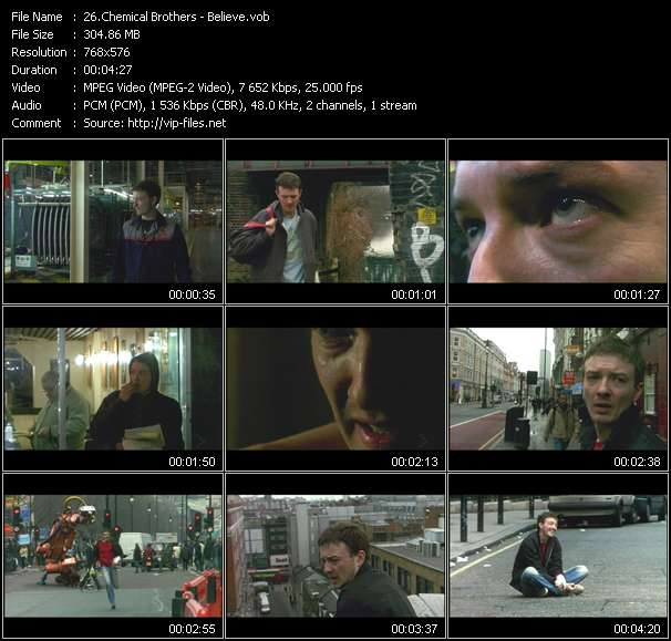 Chemical Brothers clips musicaux vob