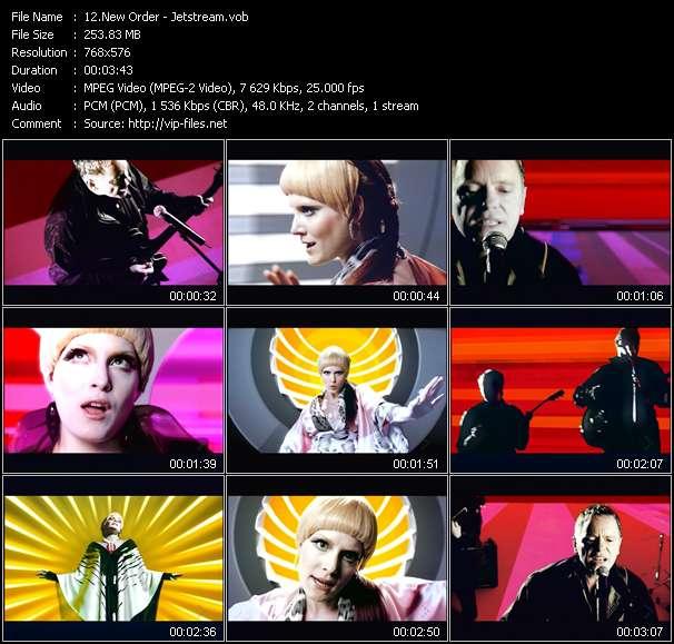 New Order video vob