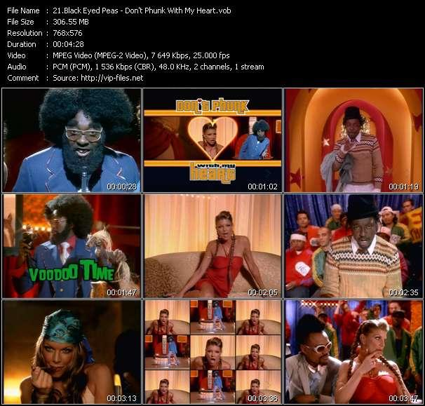 Black Eyed Peas video vob