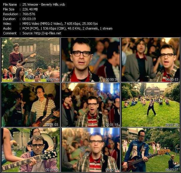 Weezer video vob