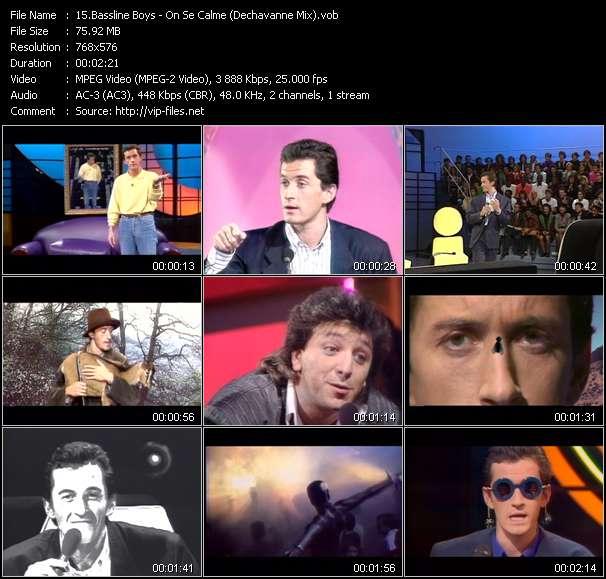 Bassline Boys video vob