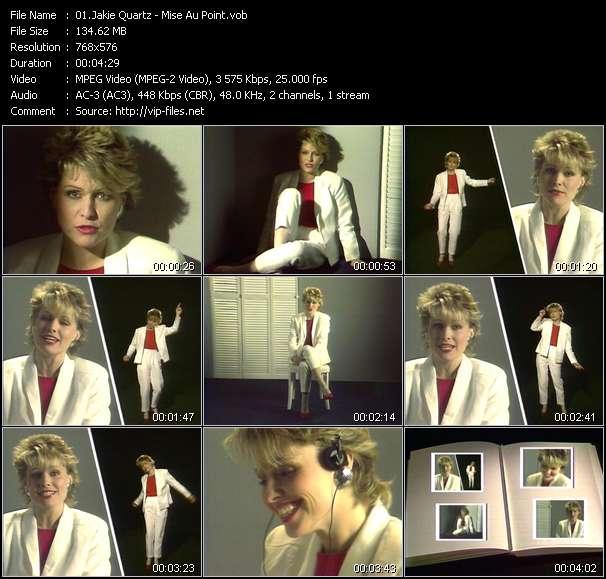 Screenshot of Music Video Jakie Quartz - Mise Au Point