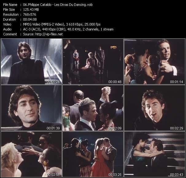 Screenshot of Music Video Philippe Cataldo - Les Divas Du Dancing