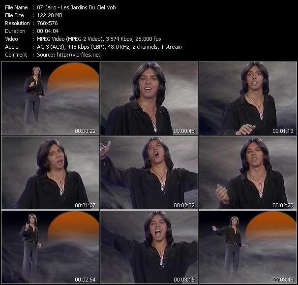 Screenshot of Music Video Jairo - Les Jardins Du Ciel