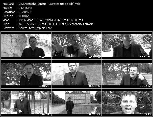 Christophe Renaud video vob