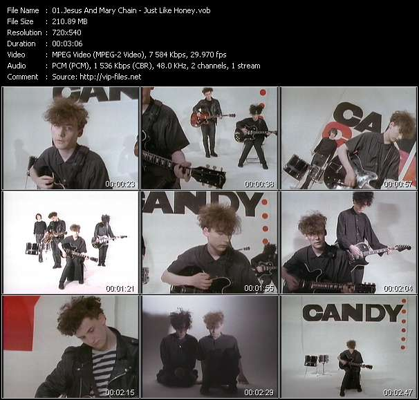 Jesus And Mary Chain video vob