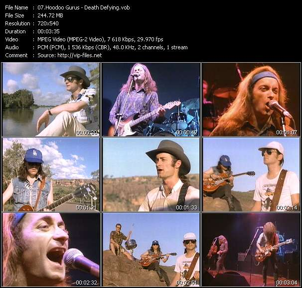 Hoodoo Gurus video vob