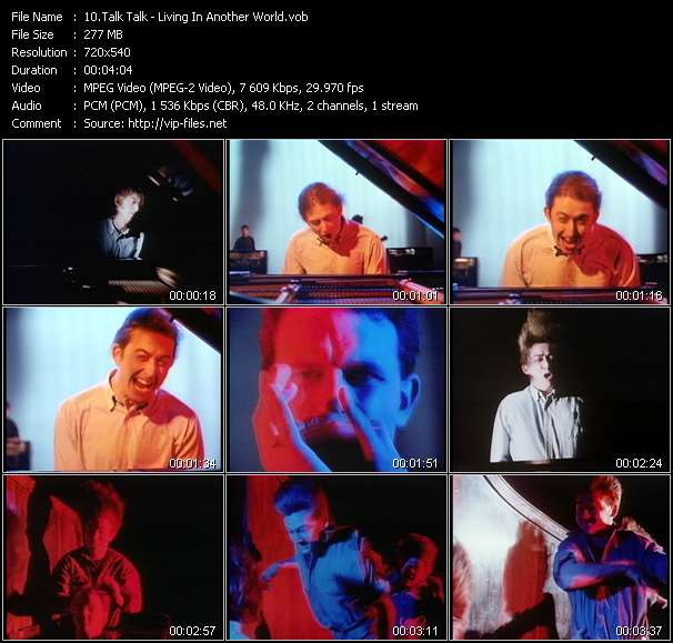 Screenshot of Music Video Talk Talk - Living In Another World